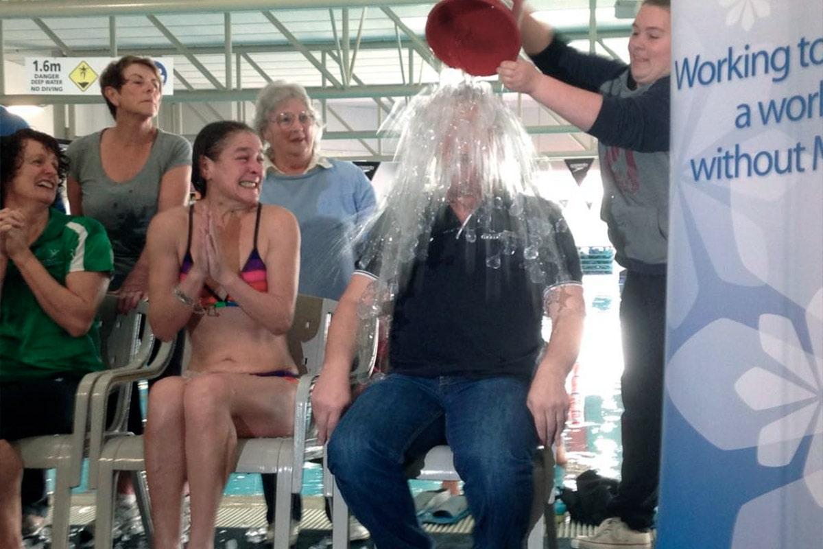 Fundraising -- Taking the MND Ice Bucket Challenge