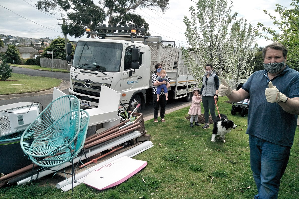 Free hard rubbish collection -- delivered
